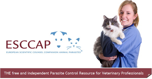 ESCCAP Europe, experts parasites animaux de compagnie